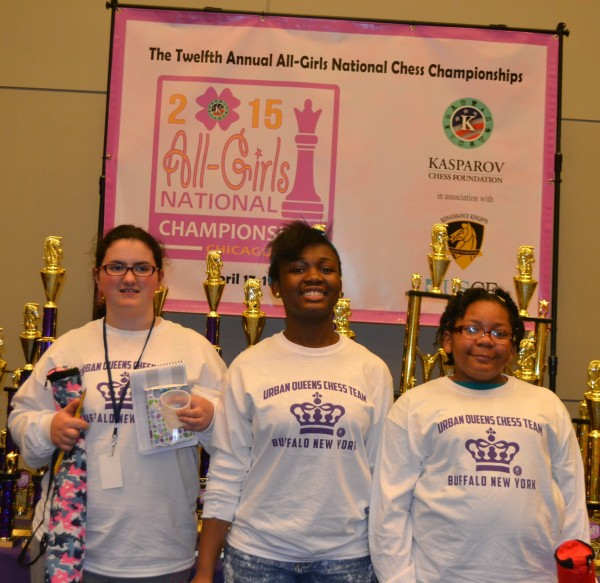 First scholastic team from Erie County to play in the All-Girls National Championship in Chicago IL